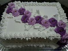 Cake Icing, Buttercream Cake, Eat Cake, Cupcake Cakes, Cake Decorating Techniques, Cake Decorating Tips, Cookie Decorating, Birthday Sheet Cakes, Adult Birthday Cakes