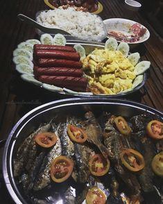 Pinoy Breakfast, Sausage, Meat, Ethnic Recipes, Food, Sausages, Essen, Meals, Yemek