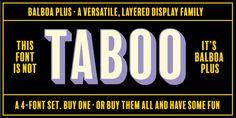 """Résultat de recherche d'images pour """"balboa plus font"""""""