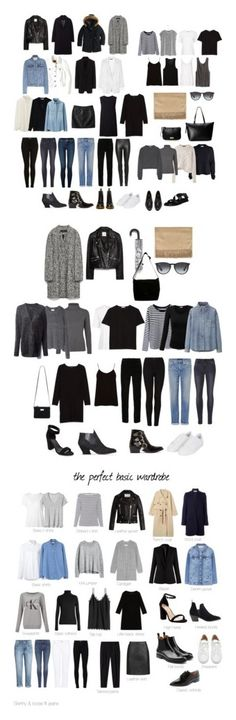 """basics"" by joannagorgon ❤ liked on Polyvore featuring MANGO, The Row, J.Crew, rag & bone, FOSSIL, TIBI, Genetic Denim, Calvin Klein Jeans, Topshop and Frame"
