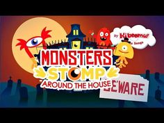 Monsters Stomp Around The House Song | Halloween Songs for Children | Happy Halloween - YouTube