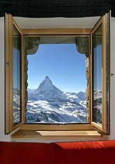 KULMHOTEL GORNERGRAT- highest hotel in the Swiss Alps.