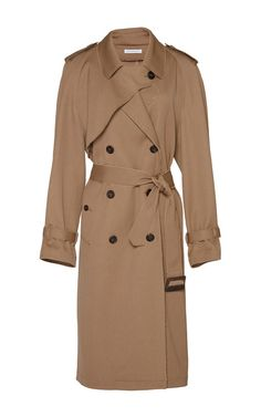 Wool Drill Trench Coat by J.W. Anderson - Moda Operandi