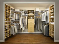 Wire Systems in How to Make Your Walk-In Closet Resemble a Chic Boutique from HGTV