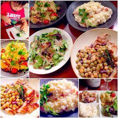 To:labomihoさん 美穂さん✨ リスナップもありがとうございます❗️ - 70件のもぐもぐ - Today's Dinnerサラダ・カッペリーニ・リゾット・ローストポーク by chef hubby by honeybunnyb