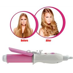Hair Styling Modeling Barrel Curler Curling Iron Wavy Hair Perm Grooming Wand #Ckeyin