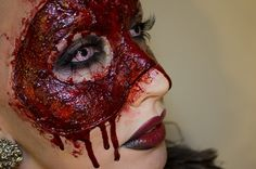 Makeup artist Psycho Sandra
