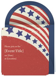 Send beautiful online invitations from Punchbowl for your Election Night Party.
