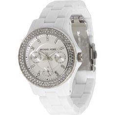 c1f88804101 White Michael Kors White Michael Kors Watch