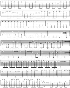 canon in d by pachelbel fingerstyle guitar tablature 1 guitar stuff pinterest. Black Bedroom Furniture Sets. Home Design Ideas