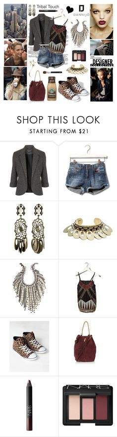 """""""Peaceful Warriors + Trippy Hippies with DANNIJO"""" by elske88 ❤ liked on Polyvore featuring Topshop, Pull&Bear, DANNIJO, Daphne and NARS Cosmetics"""