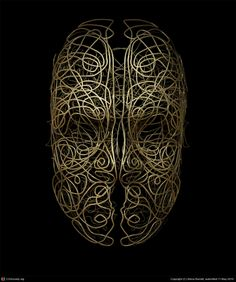 Mask III by Steve Barrett | 3D |