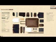 Chez Louis Vuitton, ils st sympas : ils t'expliquent cmt faire ta valise. Enfin ça fonctionne uniquement avec tes valises LV.