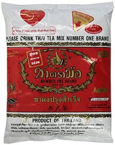 1 X The Original Thai Iced Tea Mix ~ Number One Brand Imported From Thailand! 400g Bag Great for Restaurants That Want to Serve Authentic and High Quality Thai Iced Teas.