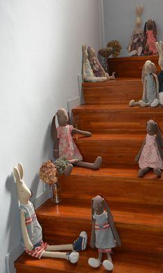 En la escalera | Blaubloom