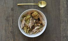 """One Pot Pheasant Stew"" — The Official Site of Chef Georgia Pellegrini Small Cabbage, Cabbage And Bacon, Pheasant Stew, Pheasant Hunting, Wild Game Recipes, Getting Hungry, Slow Food, One Pot, Stuffed Whole Chicken"