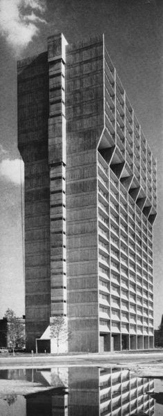 John J. Barton Apartments, Indianapolis,… #architecture #brutalism #concrete Pinned by www.modlar.com
