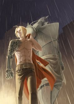 Elric brothers | Fullmetal Alchemist || 鋼豆 | 十里 [pixiv] http://www.pixiv.net/member_illust.php?mode=medium&illust_id=33569870 [please do not remove this caption with the source]