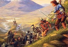 bard - by Larry Elmore | Featured Artist on the Fantasy Gallery