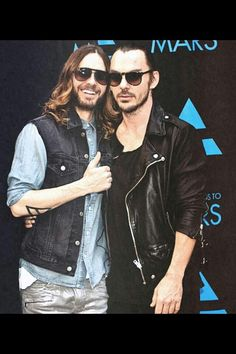 Jared Leto and Shannon Leto - Bros!