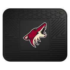 "NHL Arizona Coyotes Utility Mat 14""x17"" Baseball Gear, Chicago Cubs Logo, Phoenix Coyotes, Arizona Coyotes, Door Mats, Florida Panthers, Outdoors, Auto Accessories, Flooring"