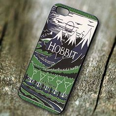 The Hobbit book cover Tolkien for Iphone 6 and Iphone 6s Case. PRICE WON'T LIE, Our case price is representing the quality, don't compare our case with another low quality case that have a very cheap price.We have the BEST QUALITY HANDMADE CASES with clear image print in affordable price.Easy access to all ports, control sensors easily, and very comfortable to carry. Available Materials are PLASTIC and RUBBER ... Available Colors are BLACK and WHITE. Made and Ship from California, USA…
