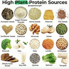 Plant Based Eating, Plant Based Diet, Vegan Nutrition, Health And Nutrition, Health Tips, Broccoli Tofu, Quinoa Spinach, Best Protein Supplement, Raw Food Recipes