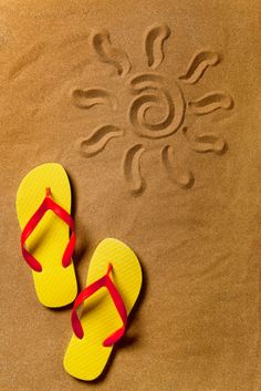 Dreaming of summer !!! ...flip flops