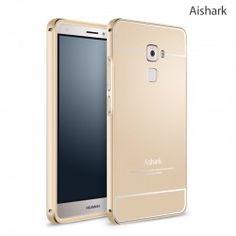 Huawei Mate S Aishark Metal Bumper Frame + PC Back Plate Case