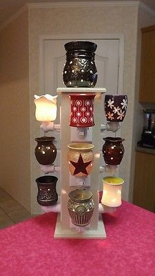 """Tree Bar Display Stand """"for Compatible"""" w Scentsy Partylite Plug in Warmer 
