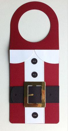 Tag christmas wine bottle tag card christmas MFT wine tag Die-namics, MFT santa suit Die-namics, MFT Suit and Tie elements: buttons  #mftstamps  - JKE