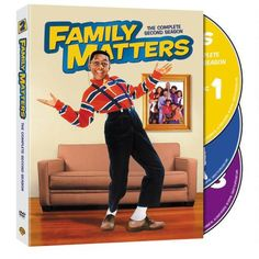 Family Matters: The Complete Second Season from Warner Bros.: Get your geek on with Steve Urkel, the ultimate… #Movies #Films #DVD Video
