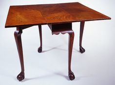 Chippendale drop-leaf table, Newport, Rhode Island, circa 1770