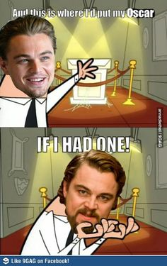 Poor Leo. But this is fantastic.