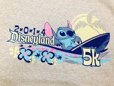 2014 Disneyland 5K Shirt | Disneyland Half Marathon Weekend | Running At Disney #runDisney #DisneylandHalf #Disneyland5K
