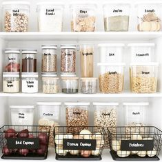 13 Genius pantry organization ideas that will leave you speechless Pantry storage, Kitchen organization, H – Experience Of Pantrys Kitchen Organization Pantry, Home Organisation, Organizing Ideas, Organization Hacks, Organized Pantry, Organising, Organize Small Pantry, Pantry Ideas, Open Pantry