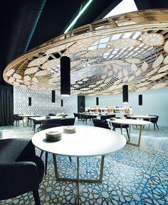 AMAZING RESTAURANT DESIGN |noor restaurant gg architects córdoba spain | bocadolobo.com | #luxuryhotels #besthotels