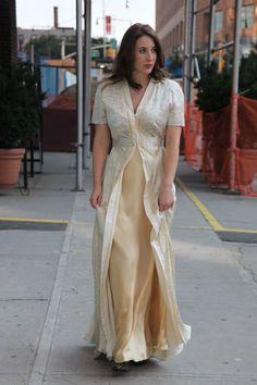 Burda patroon lange jurk (op bestelling)