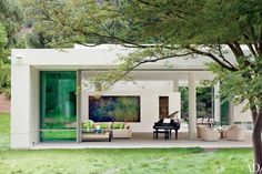 A Contemporary Los Angeles Villa by Michael Lehrer : Architectural Digest