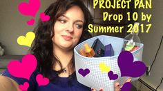 Product pan- drop 10 by summer tag. Products I want to use up by summer ...