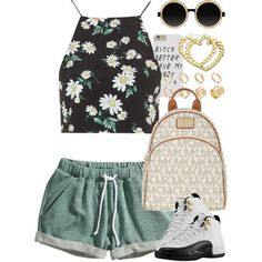 Untitled #1335 by power-beauty on Polyvore featuring Topshop, H&M, MICHAEL Michael Kors, ASOS, Moscot and H.I.P.