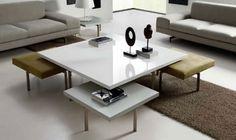 Mesas de centro minimalistas - Decoracion