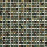 "Found it at Wayfair - Fashion Accents 12"" x 12"" Glazed Shimmer Illumini Mosaic in Meadow"