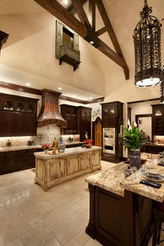 Private Residents - traditional - Kitchen - Other Metro - Larry Lott Interiors
