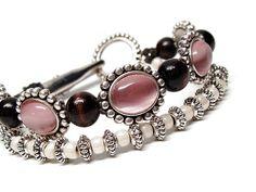 Pretty in PINK roach clip Hemp Bracelet by PeaCeofHemp on Etsy, $9.50