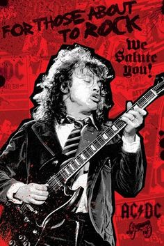 Poster AC/DC - For Those About