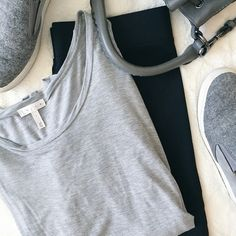 Leith Top Gray long sleeve scoop neck Leith tee. 100% modal. Purchased from Nordstrom. Machine wash cold. Size large.  Fast Shipping Non-Smoking ⭐️10% off bundles⭐️ No trades/PayPal Open to fair offers Instagram: laurentopor Tumblr: nearlynewbylo  ✨ Happy Poshing ✨ Leith Tops