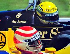 Ayrton Senna: O Duelo da Pole Entre Ayrton Senna e Nelson Piquet