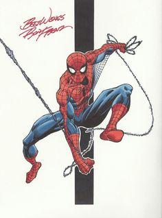 Ron Frenz spiderman