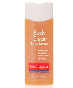Use an exfoliator such as Neutrogena Body Clear® Body Scrub before bikini line shaving and aloe afterwards to help prevent ingrown hairs. Need to try!
